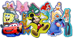 Popular Character Stickers