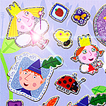 Ben and Holly Sticker Sheet
