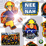 Fireman Sam Sticker Sheet