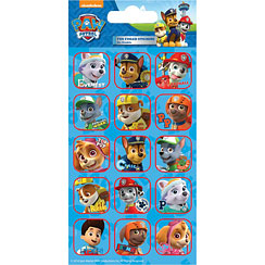 Paw Patrol Foil Caption Stickers