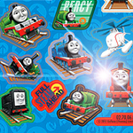 Thomas The Tank Engine Sticker Sheet