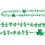 'Happy St Pats' Necklace  - St Patrick's Day Necklace