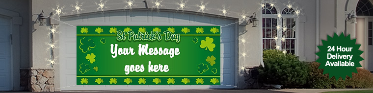 St. Patrick's Day Personalised Banners
