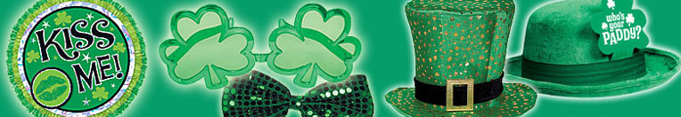 St. Patricks Day - Hats and Novelties