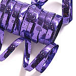 Purple Holographic Streamers - 10 coils