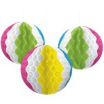 Honeycomb Beach Balls