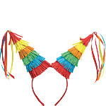 Rainbow Pinata Headband - Hawaiian Accessories