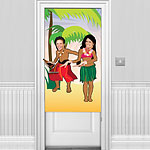 Hawaiian Photo Door Poster - Hawaiian Decoration