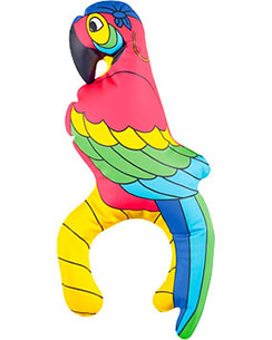 Inflatable Parrot - 28cm