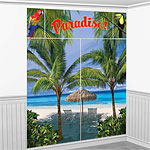 Palm Tree Scene Setter Decorating Kit - 1.8m