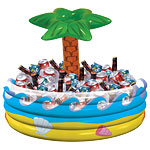 Tropical Palm Tree Cooler - 35cm