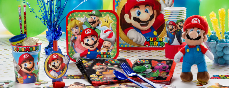 Super Mario Brothers Party Supplies