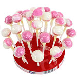 Strawberry & Cream Lollies