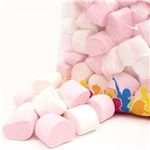 Pink & White Marshmallow 1kg Bulk Bag