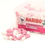 Haribo Strawberry & Cream Tub