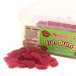 Swizzels Fun Gums Juicy Lips Tub