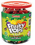 Fruity Pops Bulk Tub - Bulk Sweets