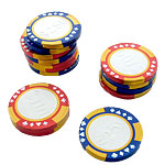 Chocolate Casino Chips