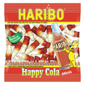 Haribo Mini Happy Cola £0.12 per bag (17g / 0.6oz)