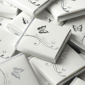 Chocolate Neapolitans - Just Married Silver Butterfly £12.99 50 pack (50g / 1.76oz)