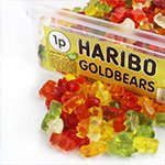Haribo Gold Bears Tub - Bulk Sweets
