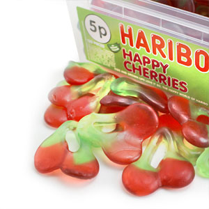 Haribo Happy Cherries Tub
