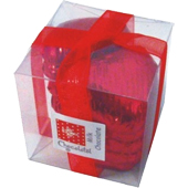 Chocolate Hearts Cube - Red £1.99 each (40g / 1.41oz)