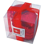 Chocolate Hearts Cube - Red