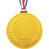 Gold Chocolate No.1 Medal £0.99 each (20g / 0.71oz)