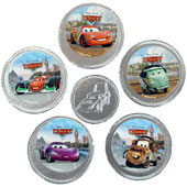 Disney Cars Chocolate Coins £1.35 per net (50g / 1.76oz)