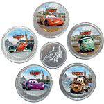Disney Cars Chocolate Coins