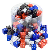 Novelty Chocolate Dice £0.65 each (10g / 0.35oz)