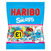 Haribo The Smurfs £1.00 per bag (235g / 8.29oz)