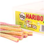 Haribo Sour Rainbow Twists Tub