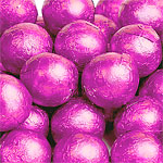 Milk Chocolate Ball - Pink - 5g