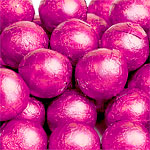 Milk Chocolate Ball - Cerise - 5g