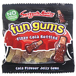 Swizzels Fun Gums Fizzy Cola Bottles