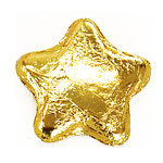 Chocolate Stars - Gold