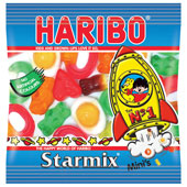 Haribo Mini Star Mix   £0.12 per bag (17g / 0.6oz)