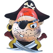 Pirate Novelty   £0.33 each (12.5g / 0.44oz)