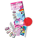 My Little Pony - Nail Stickers with Gems & Lolly Pop