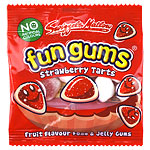 Fun Gums Strawberry Tarts