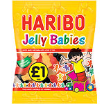 Haribo Jelly Babies Bag