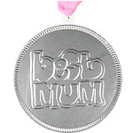 Chocolates Best Mum Silver Chocolate Medallion