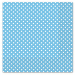 Paper Napkins Baby Blue Polka Dot Luncheon Napkins 3ply