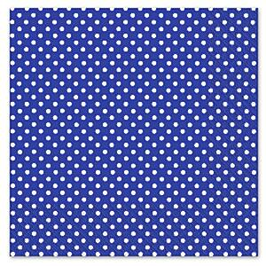 Any Day or Night Navy Blue Polka Dot Napkins 3ply
