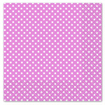 Pink Polka Dot Luncheon Napkins 3ply