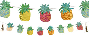 Pineapple Bunting - 3m