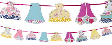 Truly Scrumptious Lampshade Bunting - 4m