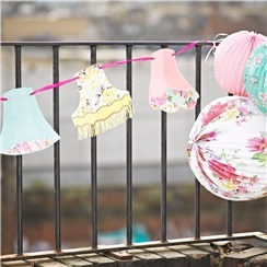Truly Scrumptious Vintage Lampshade Bunting - 4m
